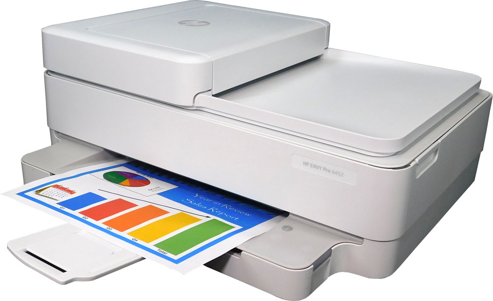 HP Envy Pro 6452 All-in-One Printer Refurbished