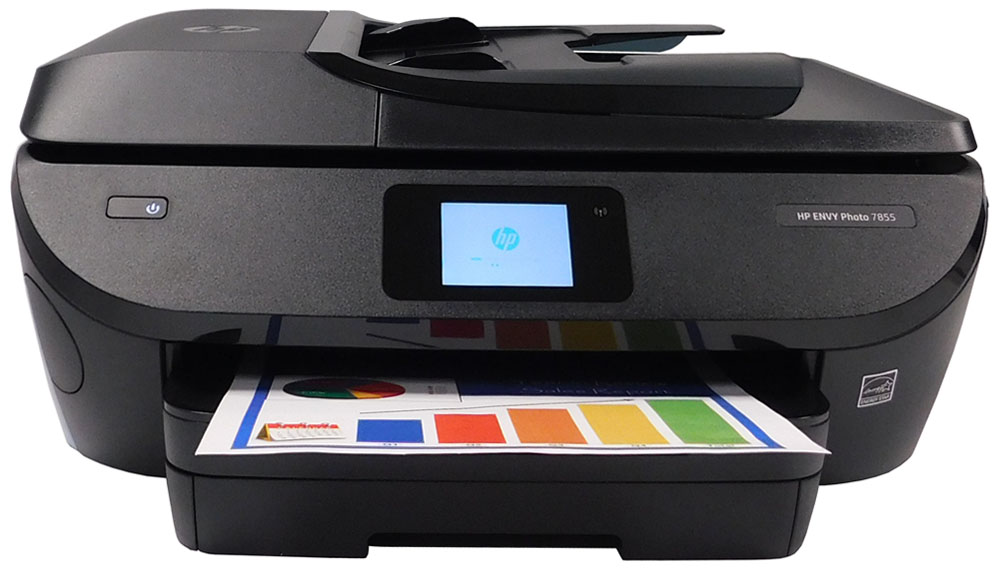 Refurbished HP Envy Photo 7855 All-In-One Inkjet Printer